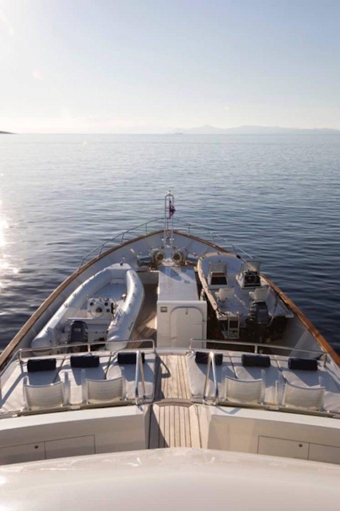 Mykonos Luxury Yacht LibraY14
