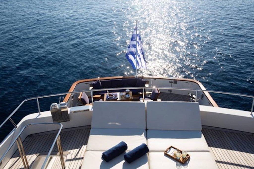 Mykonos Luxury Yacht LibraY16