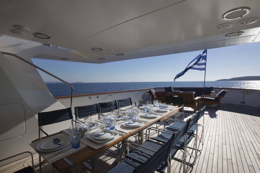 Mykonos Luxury Yacht LibraY6