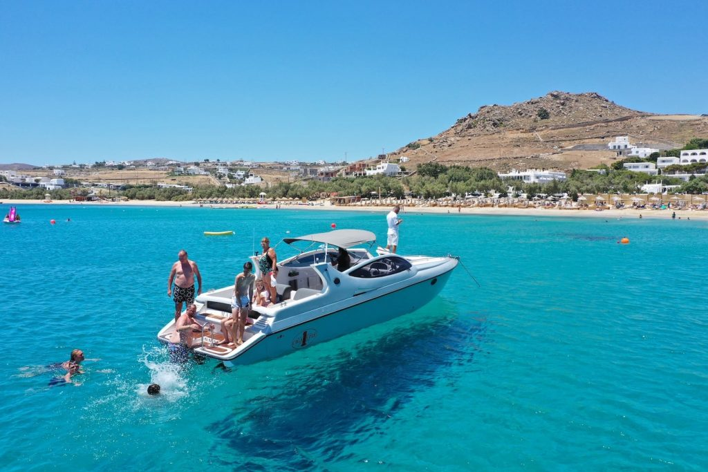 Mykonos Luxury Yacht Cigarette 360 Marlyn3