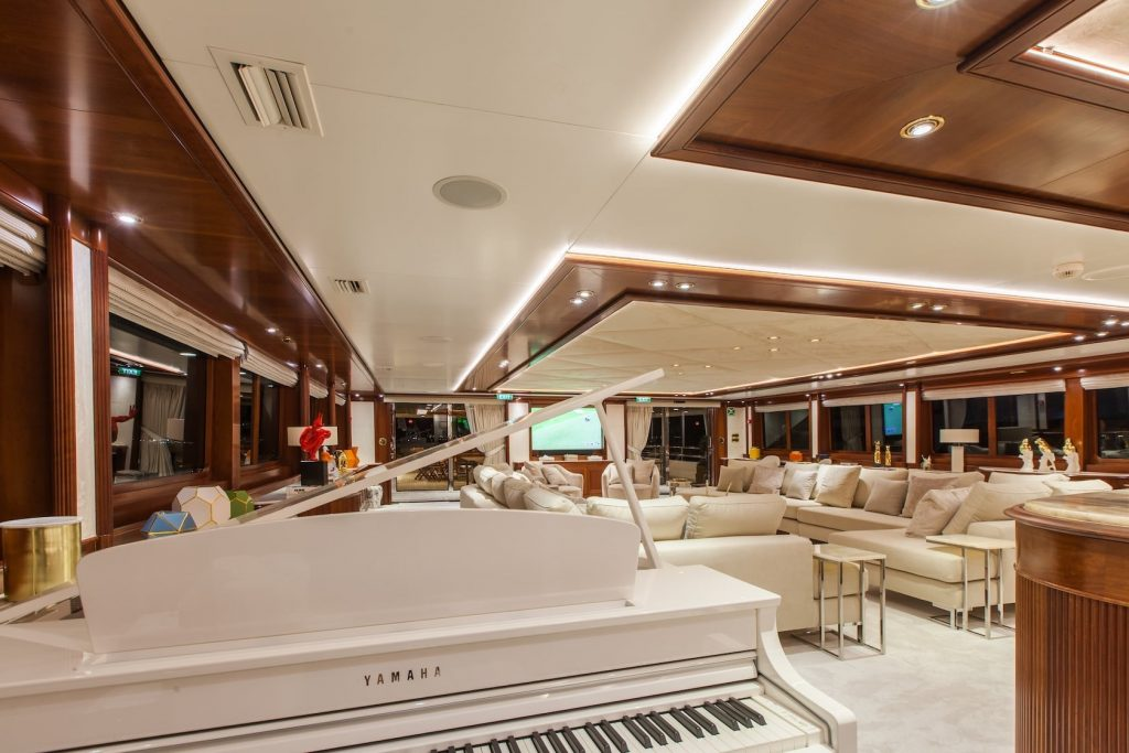 Mykonos Luxury Yacht Omega7