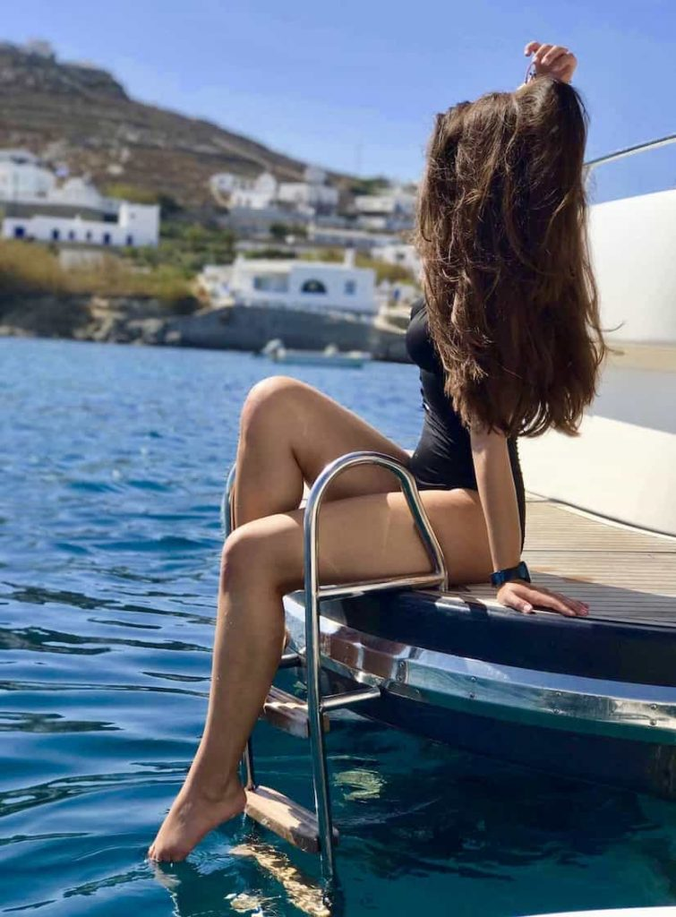 Mykonos luxury yacht Primatist G414
