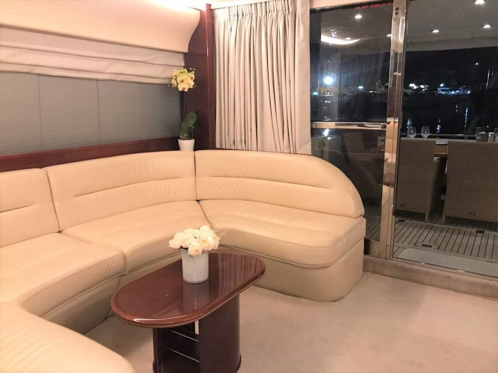 Mykonos luxury yacht Princess653