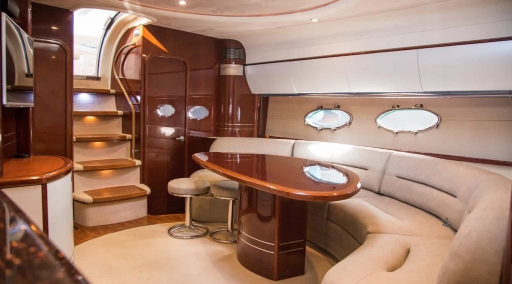 Mykonos luxury yacht PrincessV584